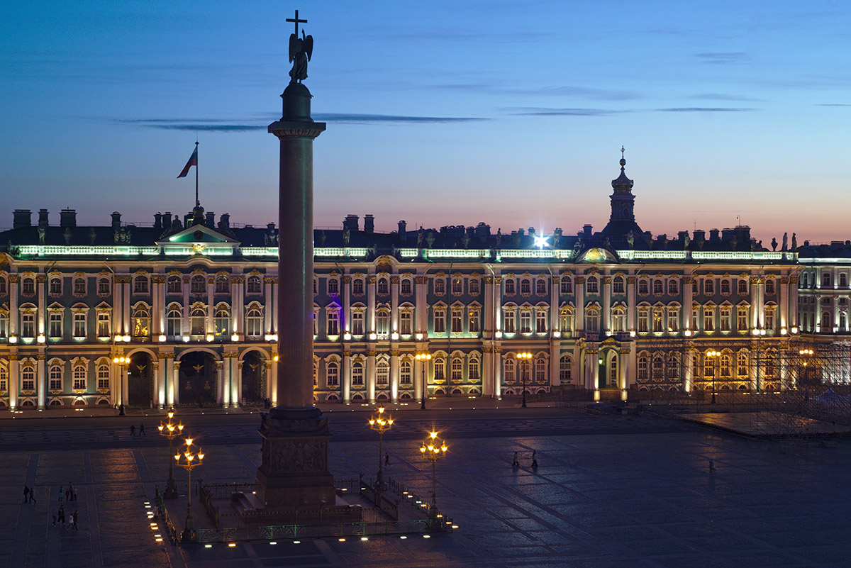 saint petersburg palace square
