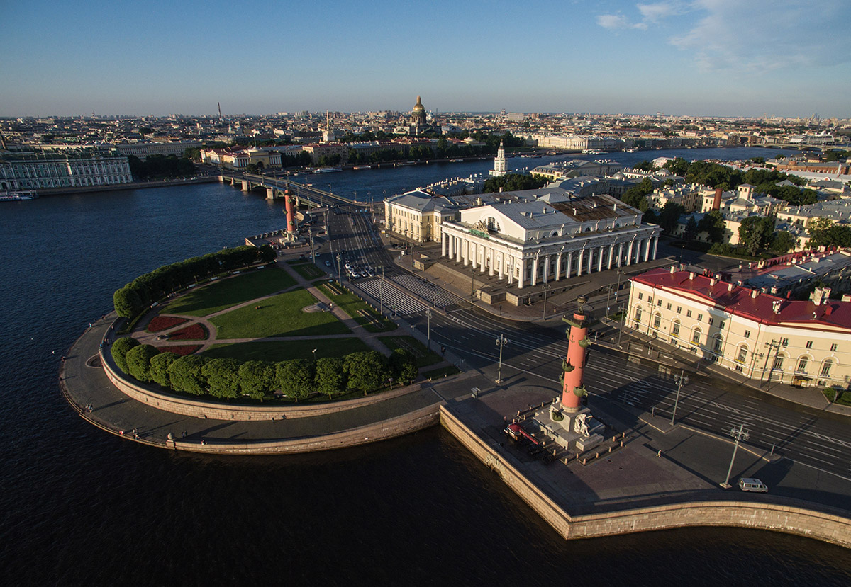 vasilievskiy island saint petersburg