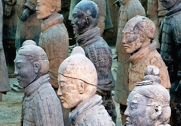 terracotta wariors silk road