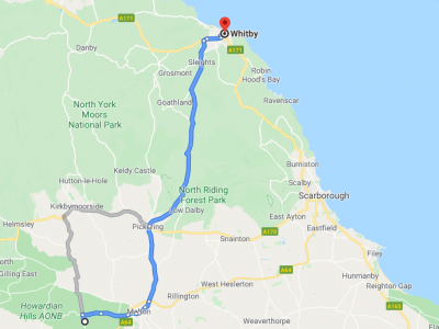 UK Self Drive York to Whitby Tour