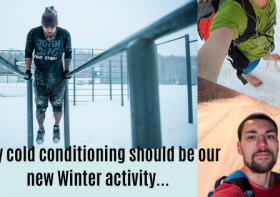 Why cold conditioning should be our new Winter activity...