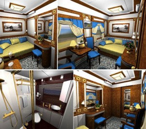 The Ulaan Baatar Golden Eagle Luxury Express