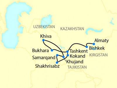 The Legendary Silk Road - Orient Silk Road Express Extended
