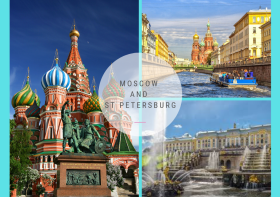 How to visit Moscow and St Petersburg?