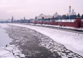 Winter weekends in Moscow