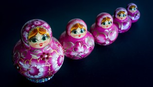 The history of Matryoshka Dolls