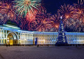 New Year in St Petersburg
