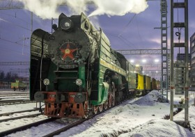 Trans-Siberian Steam Express